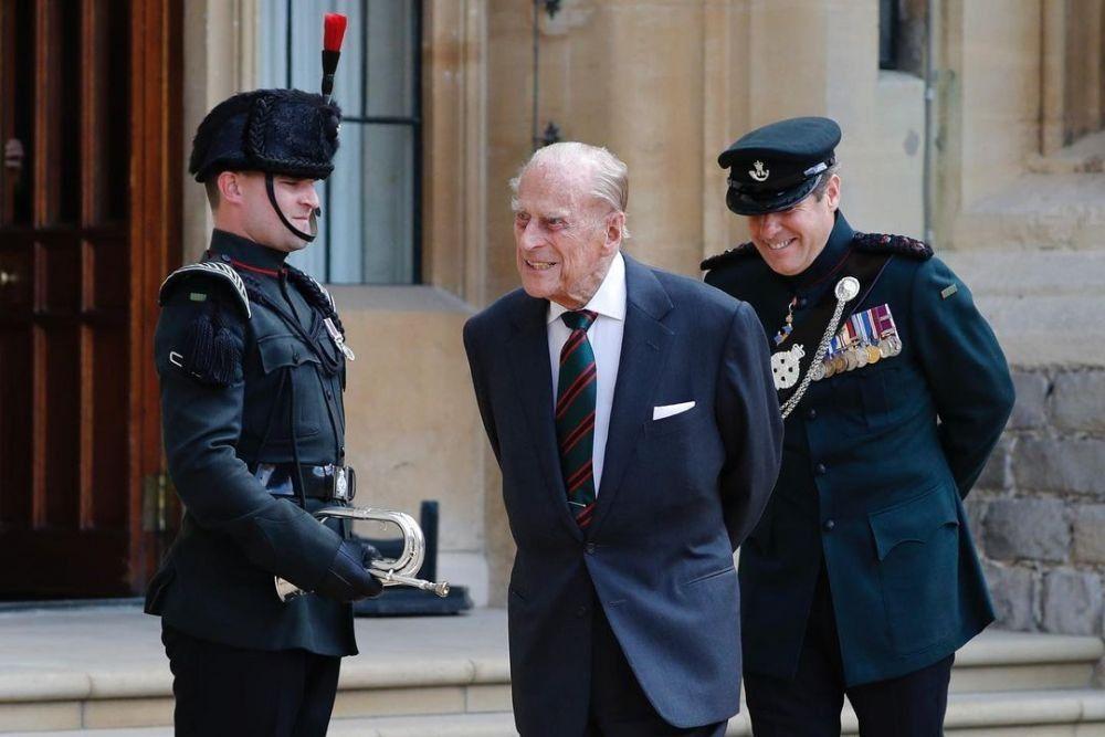 Wafat, Begini Skenario Pemakaman Pangeran Philip