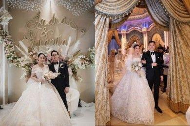 Adu Gaya Artis Indonesia Menggelar Pernikahan Mewah