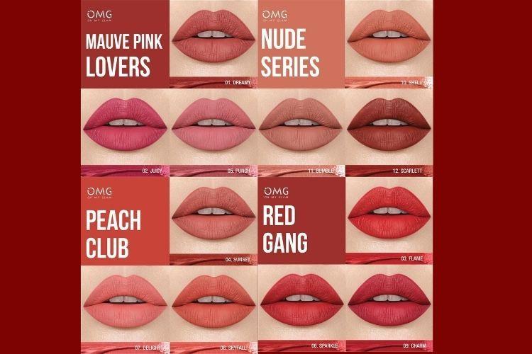 3 Alasan Kenapa Kamu Harus MencobaOh My Glam Matte Kiss Lip Cream