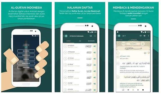 Bantu Kamu Cepat Khatam, Ini 10 Aplikasi Baca Alquran di Ponsel