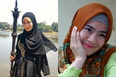 Gaya Artis Non Muslim Rela Pakai Hijab Sebuah Sinetron