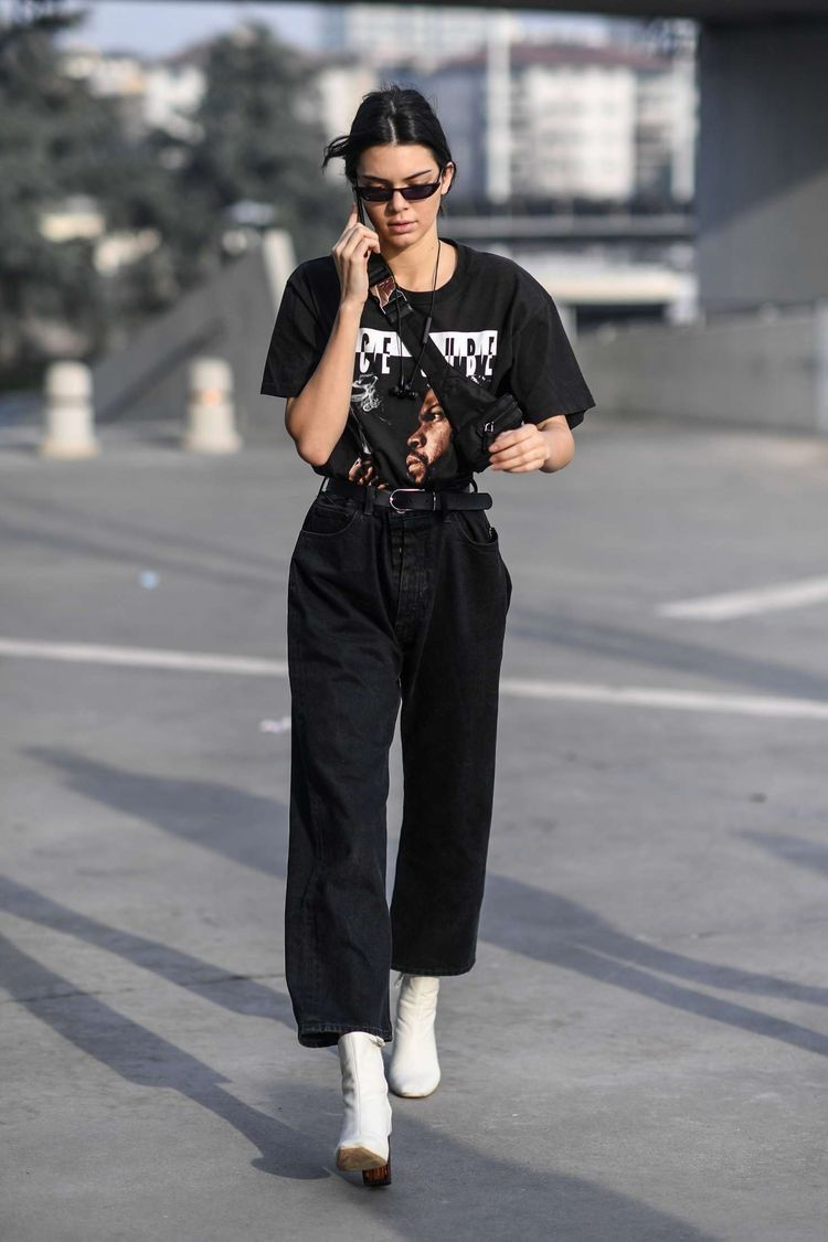 Inspirasi Outfit Kasual Serba Hitam