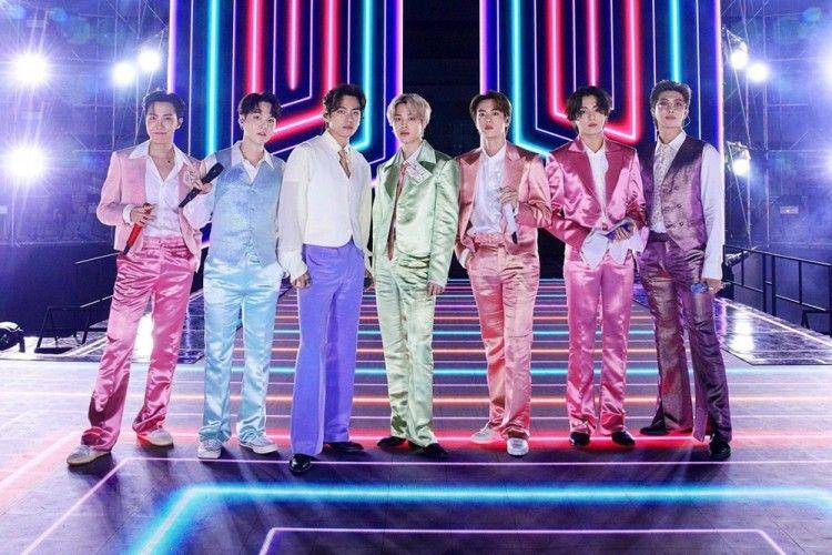Cetak Rekor, 5 Fakta Kesuksesan Konser BTS 'Bang Bang Con 21'