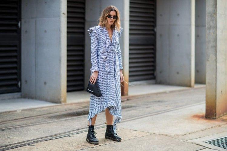 6 Inspirasi Model Dress Lengan Panjang untuk Tampil Elegan