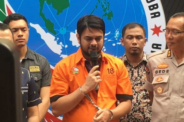 Kali Keempat,Artis Rio Reifan Ditangkap Lagi karena Sabu