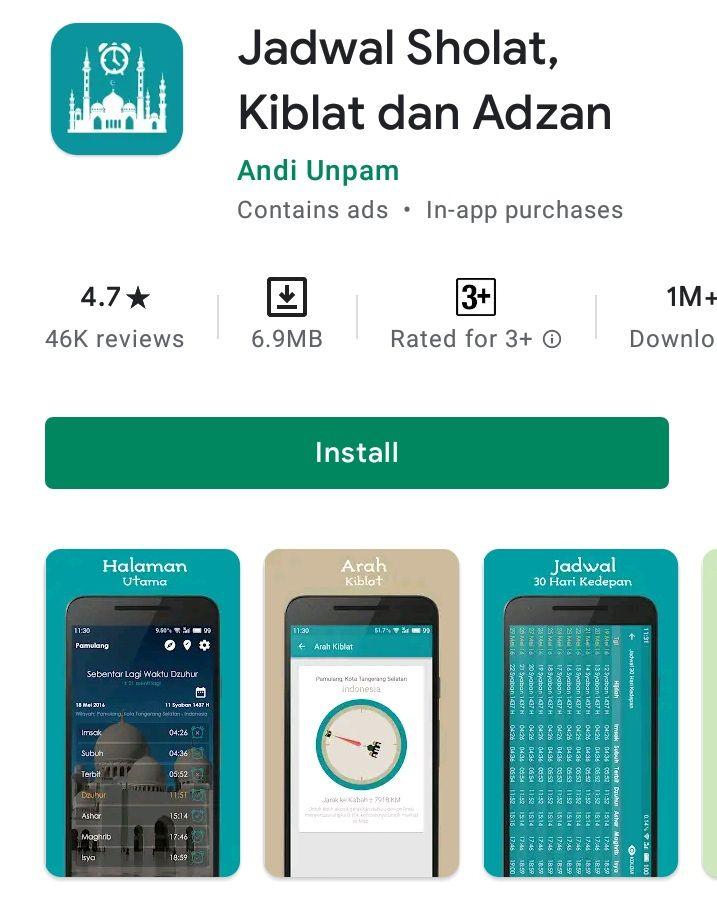 8 Aplikasi Azan Terbaik untuk Para Pengguna Android
