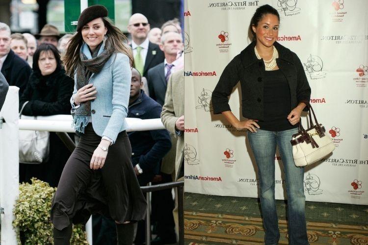 Adu Gaya Kate Middleton vs Meghan Markle Sebelum Jadi Anggota Kerajaan