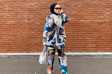 Tips Padu-padan OOTD Office Look Perempuan Hijab