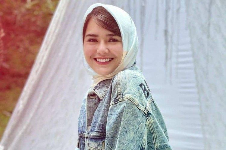 Begini Gaya Amanda Manopo Ketika Kenakan Hijab, Bikin Terpana