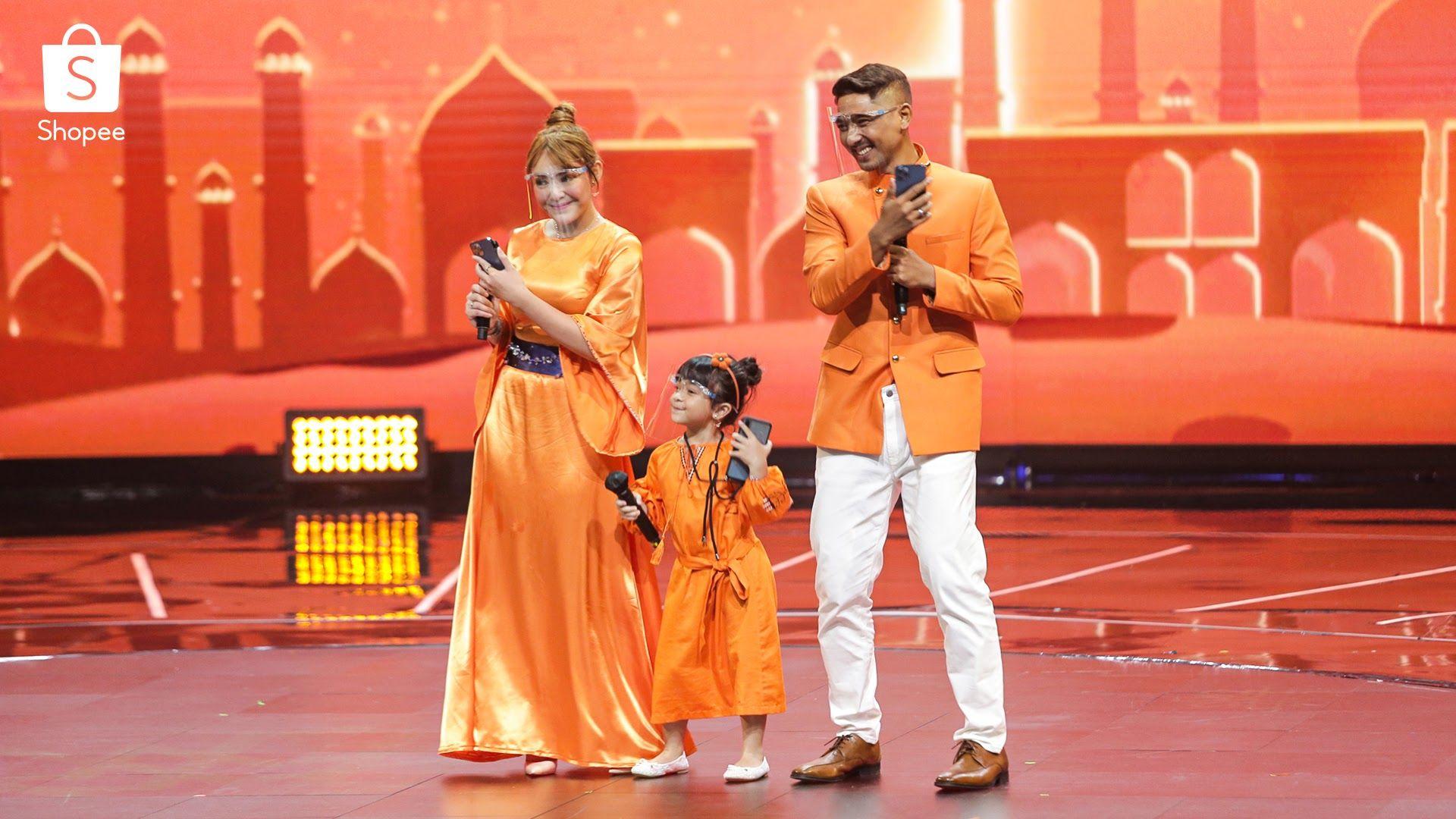 Kompak! 7 Foto Keseruan Keluarga Aldebaran di TV Show Big Ramadan Sale