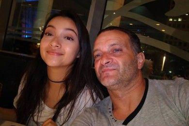 Disayang Banget 9 Potret Kedekatan Megan Domani Ayah Bulenya