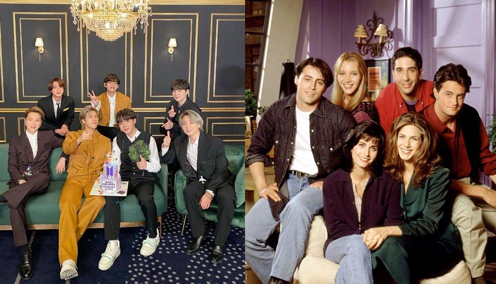 Disambut Positif, 6 Fakta Kehadiran BTS di 'Friends: The Reunion'