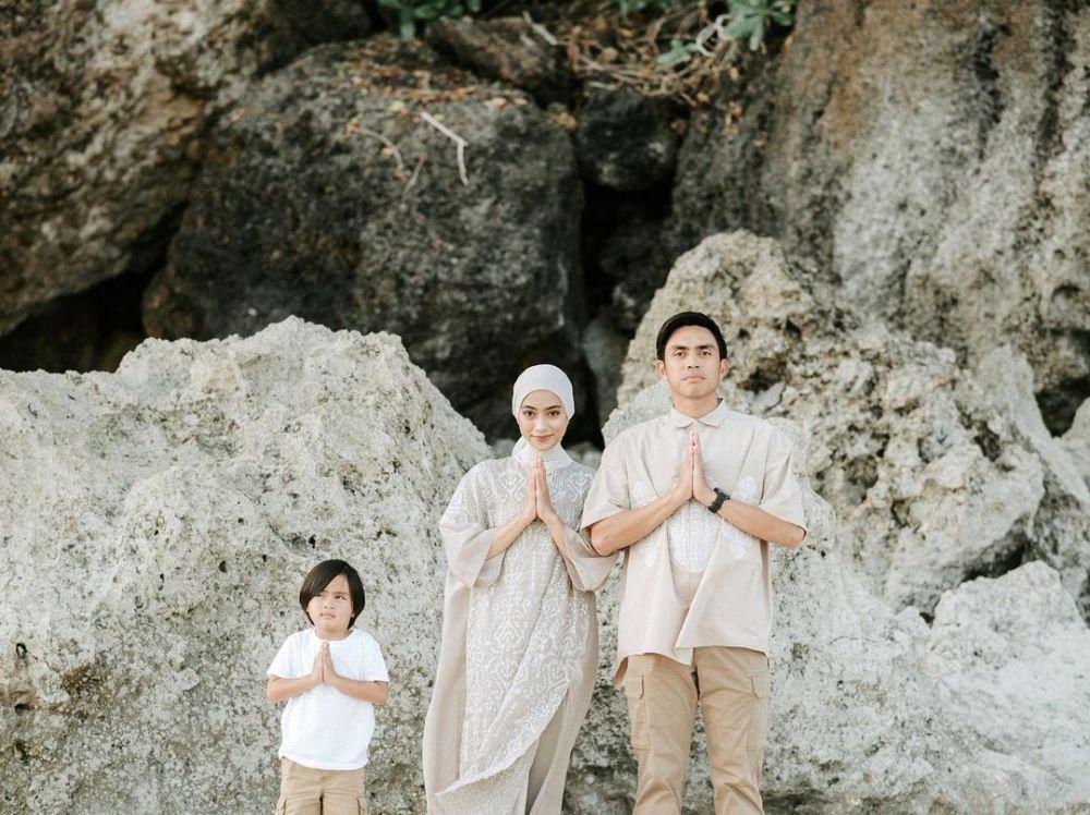 Deretan Gaya Modis Artis Indonesia Rayakan Lebaran 2021