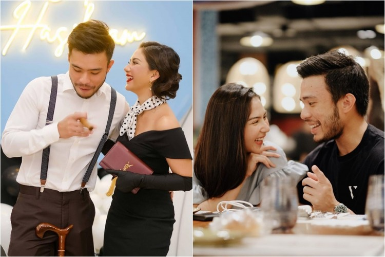 8 Potret Mesra Jessica Mila dan Yakup Hasibuan, Pacaran?