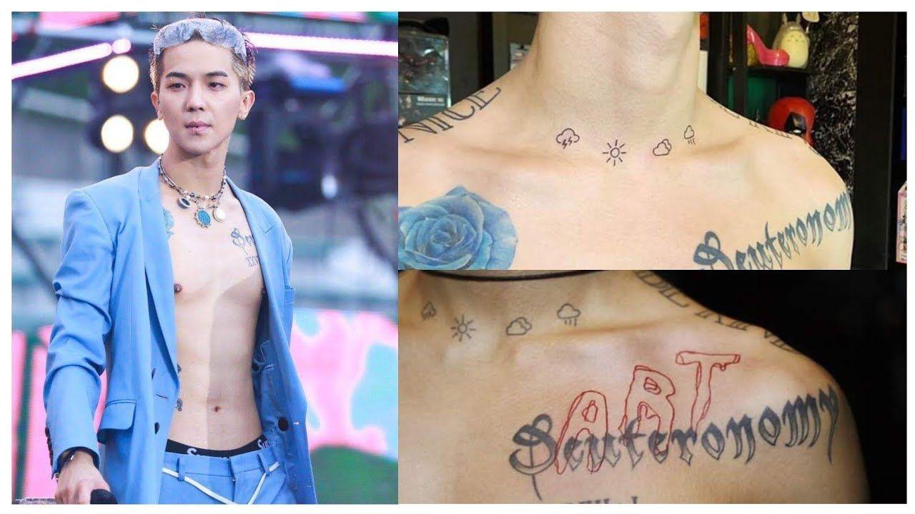 Aksi Idol Pria Pamer Tato, Bikin Penggemar Makin Jatuh Hati!