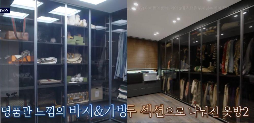 10 Potret Rapi Rumah Kai EXO, Closet-nya Bikin Iri!