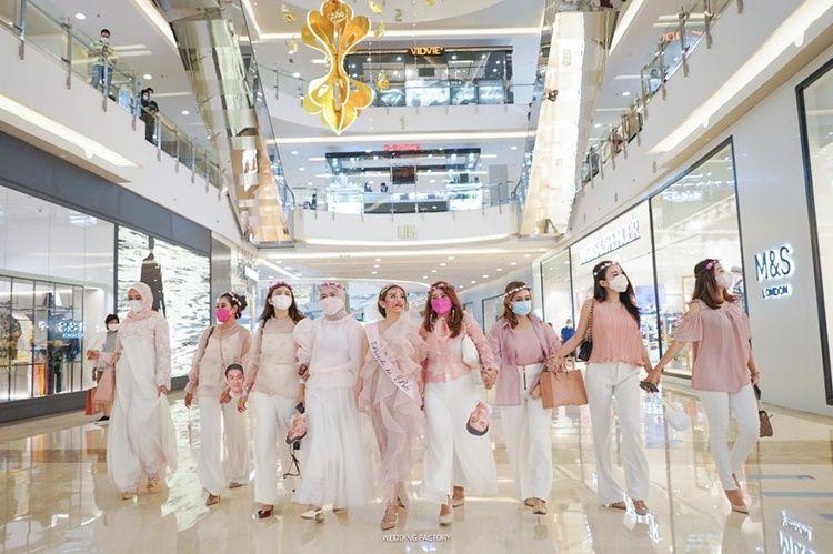 10 Momen Seru Bridal Shower Citra Monica, Calon Istri Ifan 'Seventeen'