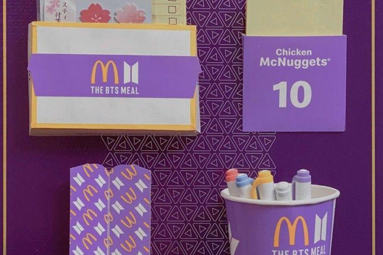 Bernilai Lebih, 8 Ide Kreatif Mengubah Kemasan BTS dan McDonald's