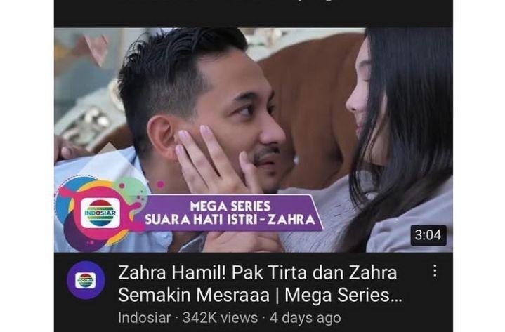Tuai Protes, Indosiar Ganti Pemeran Zahra di Sinetron 'Suara Hati'