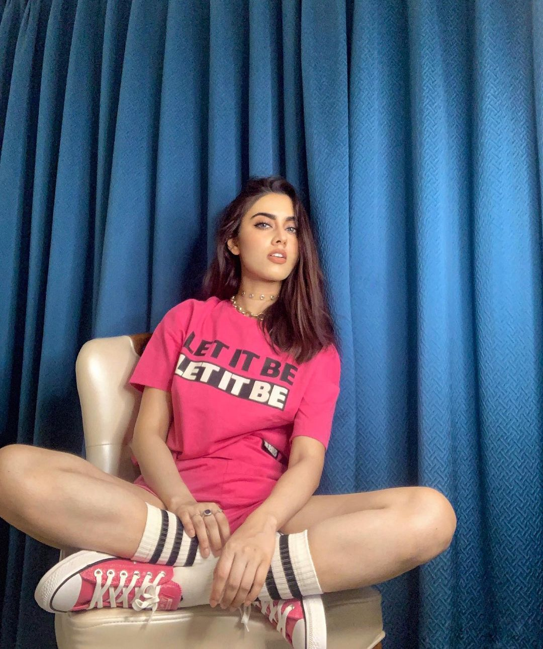 Potret Seksi Sakshma Srivastav, Artis India yang Bikin BTS Salting!