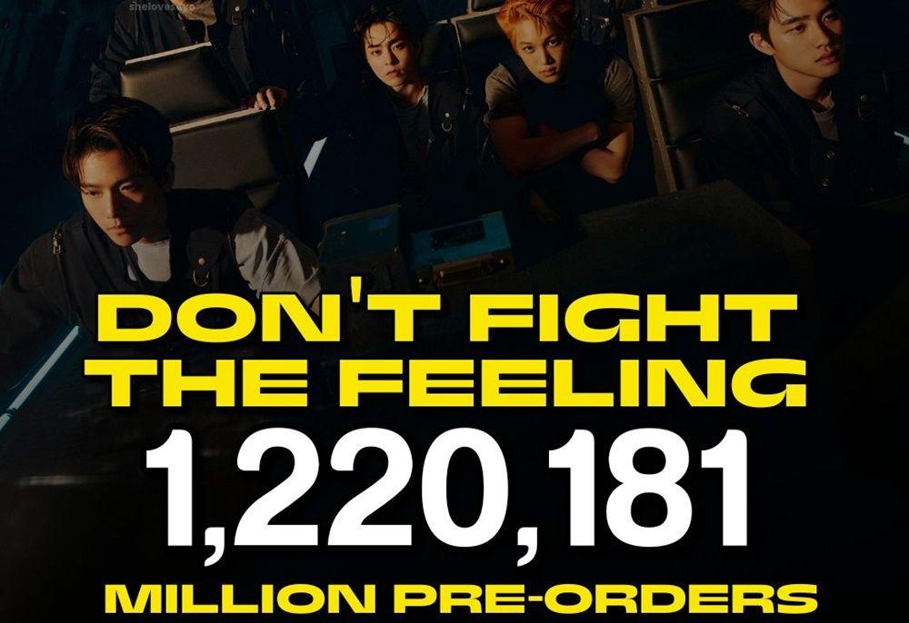 Sukses Besar, 5 Prestasi Mengesankan EXO Don't Fight The Feeling