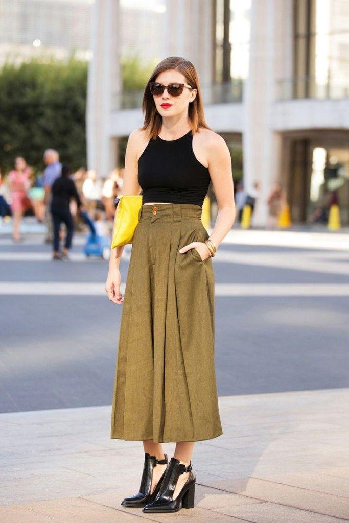 Trik Kelihatan Jenjang Pakai Celana Wide Leg untuk Si Tubuh Mungil