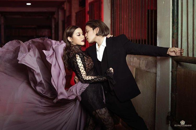 Bak Pre-Wedding, Ini 10 Pemotretan Mesra Jordi Onsu & Frislly Herlind