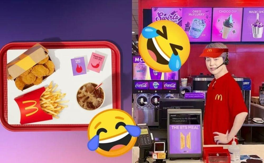 Gaya Para Artis yang Jadi 'Korban' Meme Kreatif BTS Meal
