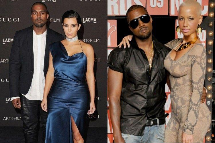 Sebelum Irina Shayk, Ini 7 Wanita Kekasih Kanye West