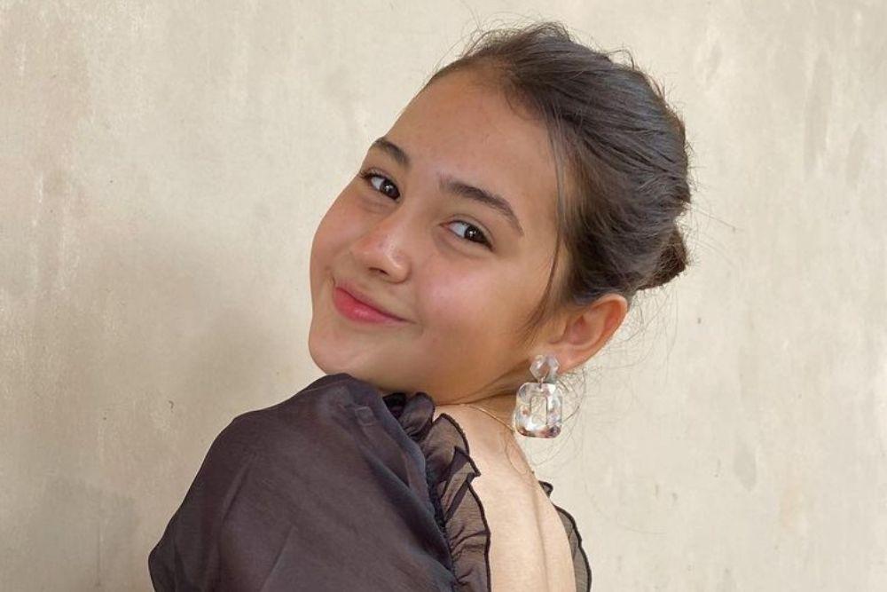 Potret Sandrinna Michelle di Media Sosial, Aktris 14 Tahun yang Kece