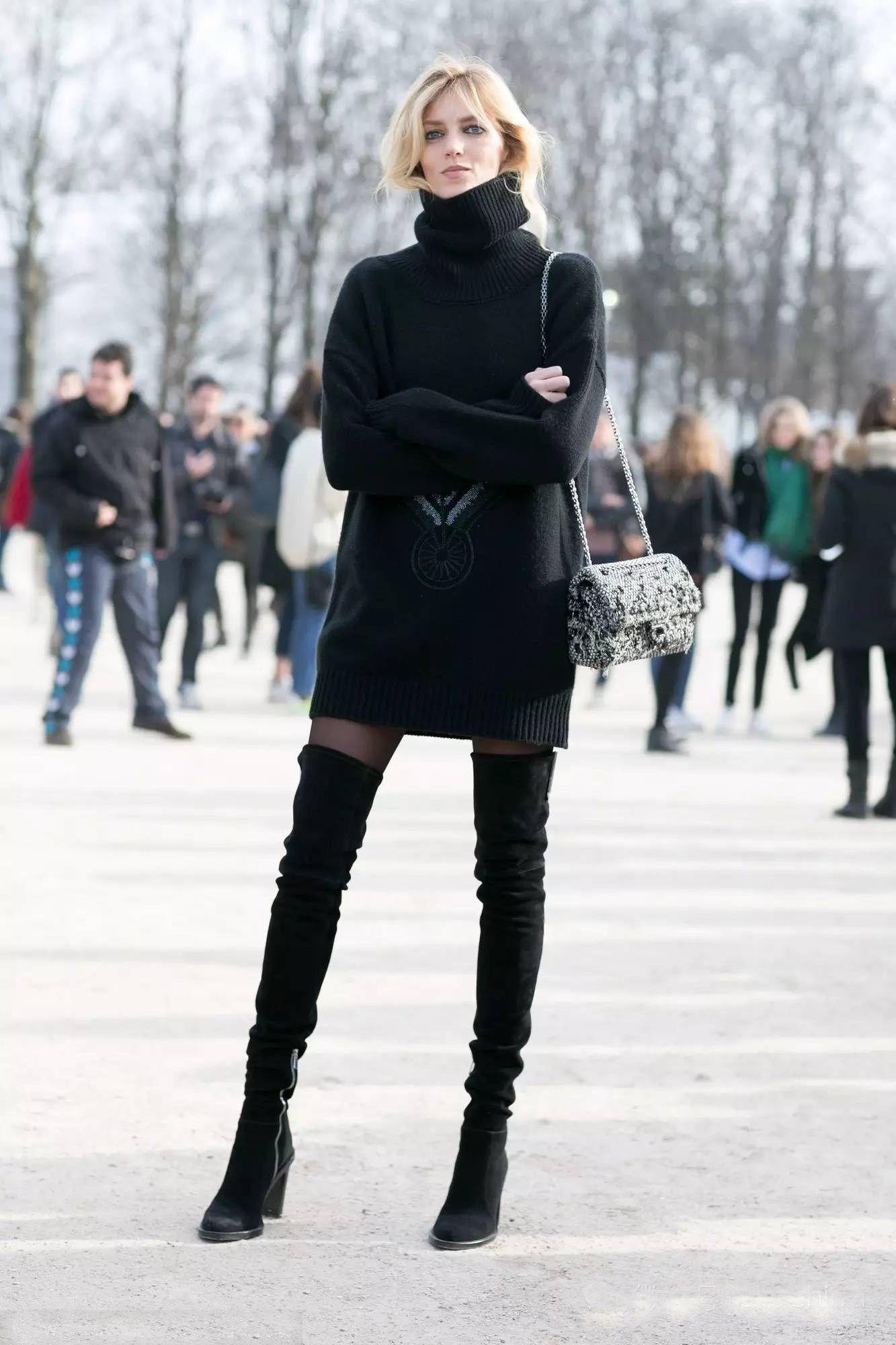 Tips Padu-padan Boots Tinggi Sesuai Bentuk Tubuh
