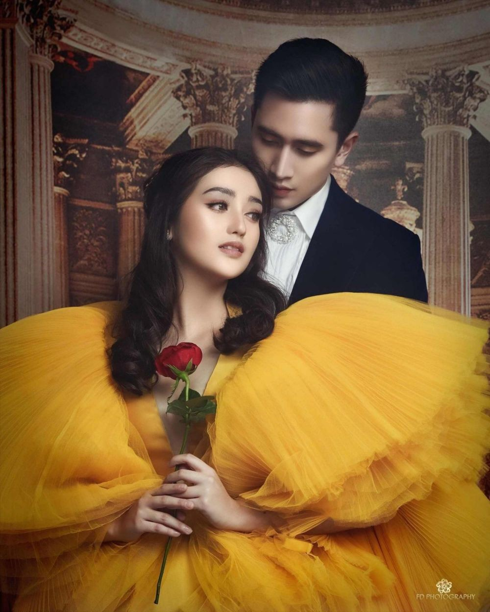 Gaya Pasangan Sinetron saat Pemotretan, Mesra Layaknya Pre-Wedding!