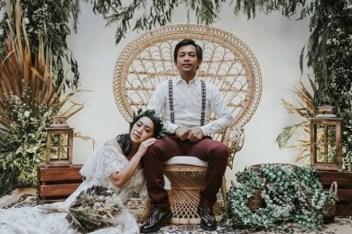 Lagi Disorot, 10 Potret Rian D'Masiv Istri Dikenal Family Man