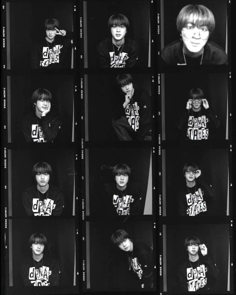 Jin BTS Ketahuan Pakai Baju Milik Brand Indonesia saat Photo Booth