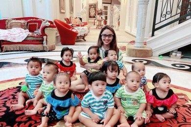 11 Potret Rumah Mewah Monica Soraya, Perempuan Adopsi 13 Bayi