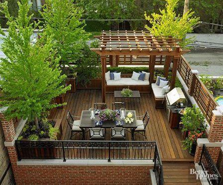 11 Ide Desain Rooftop Rumah Agar tidak Panas dan Membosankan
