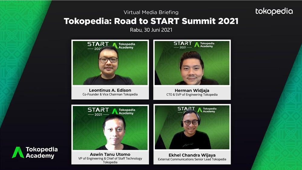 Majukan Ekosistem Digital Tanah Air, Tokopedia Gelar START Summit 2021