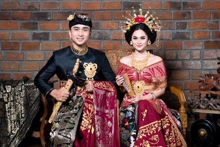 10 Foto Pre-Wedding Lutfi Agizal dan Nadya Indry, Pakai Adat Bali!