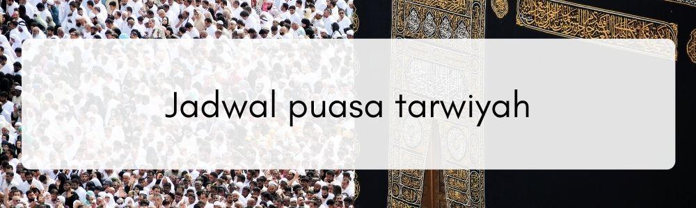 Niat dan Keutamaan Puasa Tarwiyah Menjelang Idul Adha