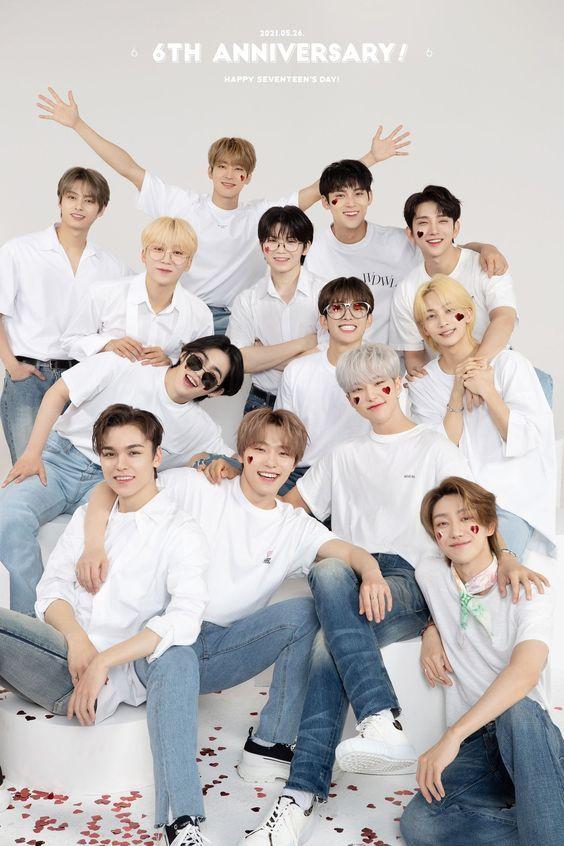 Semua Member SEVENTEEN Perbarui Kontrak dengan Pledis Entertainment