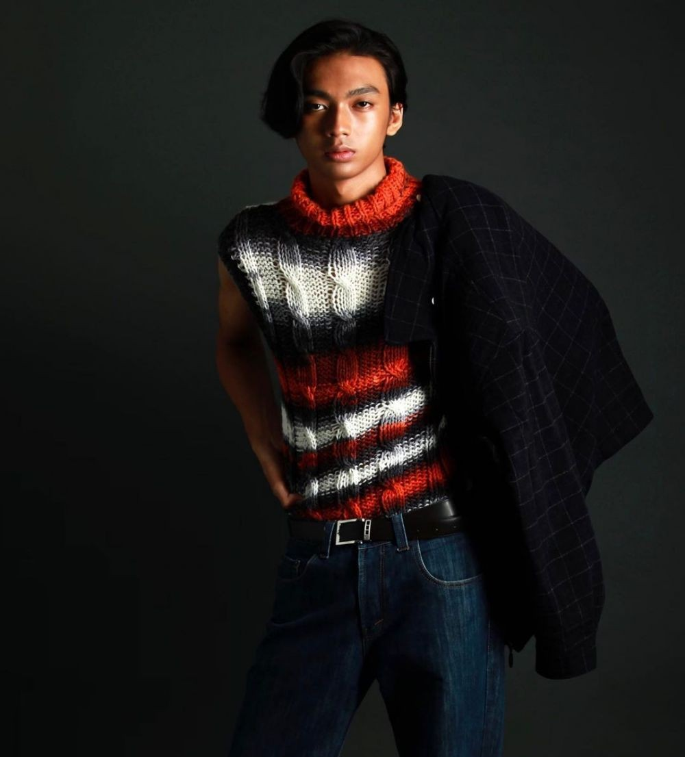Gaya Raihan Fahrizal, Model Indonesia yang 'Jalan' untuk Saint Laurent