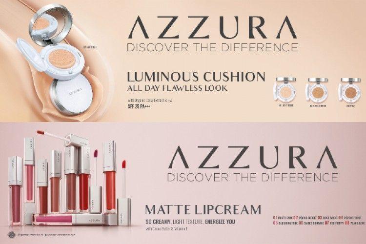 Unlock Your Beauty dengan Produk Skincare Makeup AZZURA Yuk!