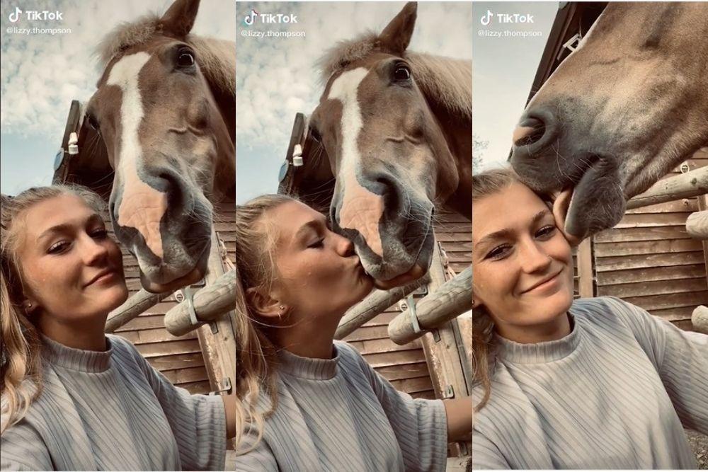 13 TikTok Challenge: Kiss Your Pet, yang Bikin Ngakak Pol!