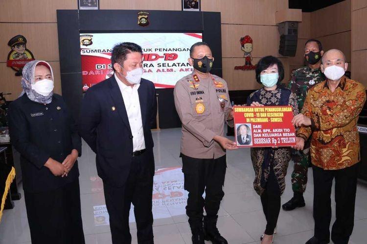 Sosok Akidi Tio, Dermawan yang Sumbang Rp2 Triliun untuk Sumsel