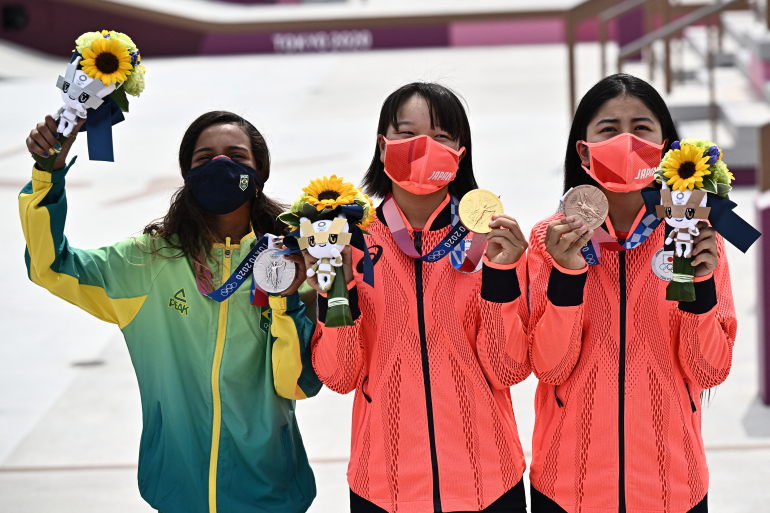 Peraih Emas Olimpiade Termuda, Ini Momiji Nishiya yang Masih 13 Tahun