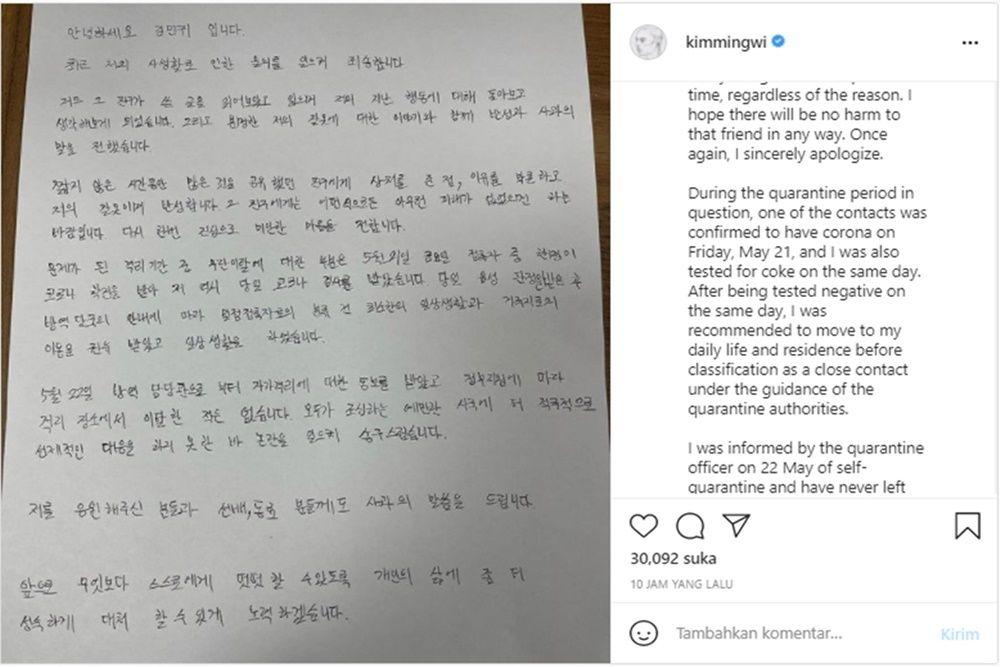 5 Fakta Skandal Selingkuh Kim Min Gwi, Bintang KDrama 'Nevertheless'