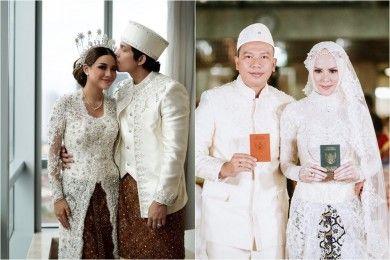 10 Artis Pernikahan Dituduh Settingan oleh Netizen, Kenapa