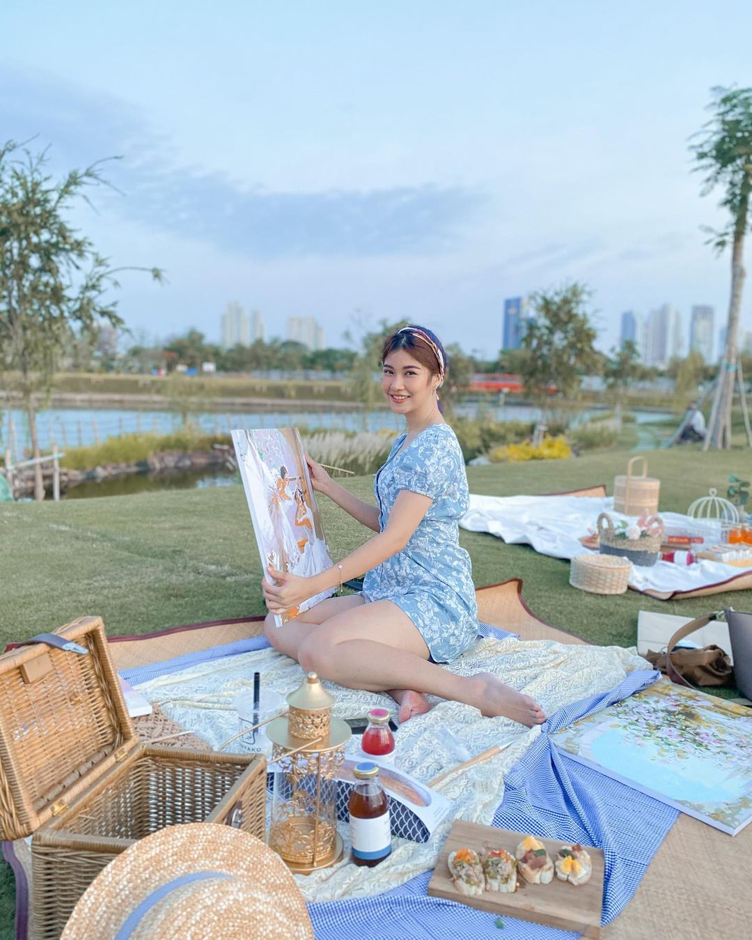 Pilih Mundur, Ini Potret Modis Olivia Tommy MasterChef Indonesia 8