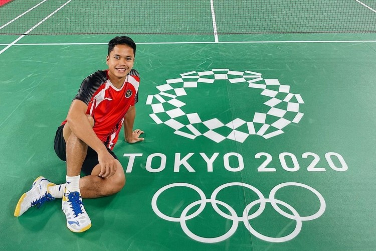 Libas Guatemala, Anthony Ginting Raih Perunggu di Olimpiade Tokyo 2020