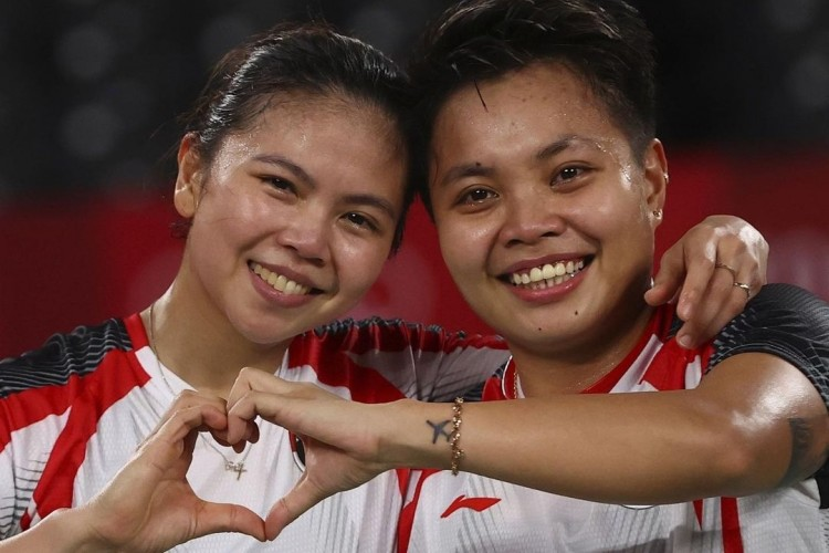 Bangga! Greysia-Apriyani Sumbang Medali Emas Pertama untuk Indonesia